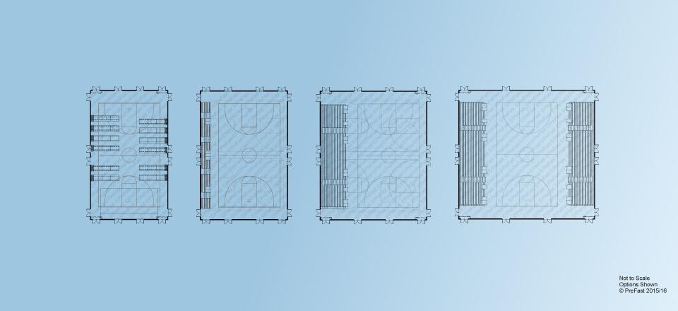 Floor Plans Gymnasium Buildings Products PreFast High