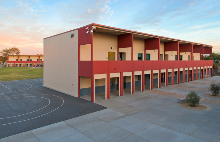 East Palo Alto Ca >> Installations | PreFast High Performance School Buildings California